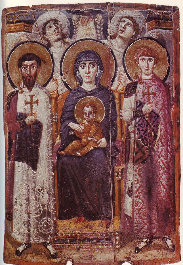 6 Mary_&_Child_Icon_Sinai_6th_century