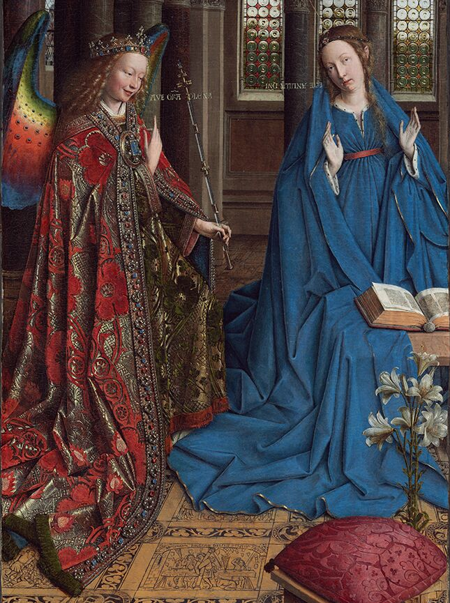 8 Jan_van_Eyck_-_The_Annunciation_-_Google_Art_Project